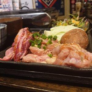 門戸厄神|最強コスパの昼飲み一人焼き肉を楽しむ